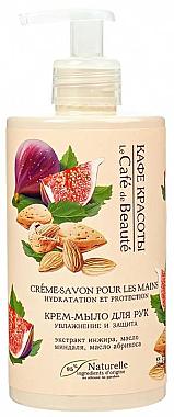 Feuchtigkeitsspendende und schützende Cremeseife - Le Cafe de Beaute Cream Hand Soap Hydration And Protection