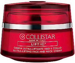 Düfte, Parfümerie und Kosmetik Anti-Aging Gesichts- und Halscreme mit Lift HD Complex - Collistar Lift HD Ultra-lifting Face And Neck Cream