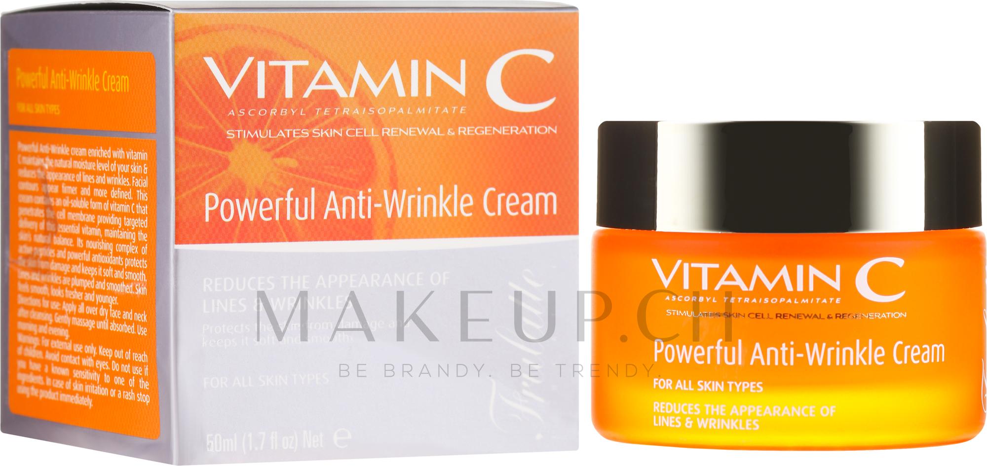 Anti-Falten Gesichtscreme mit Vitamin C - Frulatte Vitamin C Powerful Anti Wrinkle Cream — Bild 50 ml