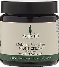 Düfte, Parfümerie und Kosmetik Regenerierende Nachtcreme für das Gesicht - Sukin Moisture Restoring Night Cream