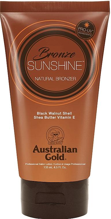 Bräunungsbeschleuniger mit Walnussschale, Sheabutter und Vitamin E - Australian Gold Bronze Sunshine