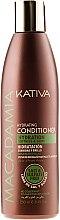 Düfte, Parfümerie und Kosmetik Feuchtigkeitsspendender Conditioner für normales, strapaziertes und sensibles Haar - Kativa Macadamia Hydrating Conditioner