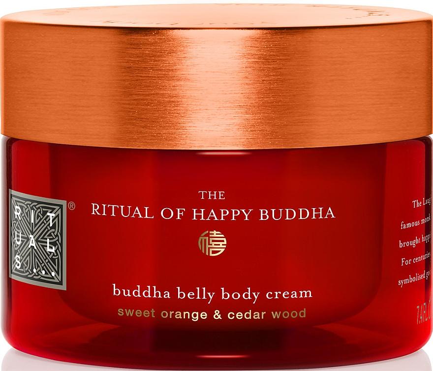 Reichhaltige Körpercreme mit Süßorange und Zedernholz - Rituals The Ritual of Happy Buddha Body Cream