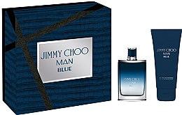 Düfte, Parfümerie und Kosmetik Jimmy Choo Man Blue - Duftset (Eau de Toilette 50ml + Duschgel 100ml)