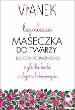 Düfte, Parfümerie und Kosmetik Beruhigende Gesichtsmaske - Vianek