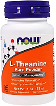 Düfte, Parfümerie und Kosmetik Nahrungsergänzungsmittel L-Theanin in Pulverform - Now Foods L-Theanine Pure Powder