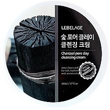 Düfte, Parfümerie und Kosmetik Gesichtsreinigungscreme für den Tag mit Aktivkohle - Lebelage Charcoal Pore Clay Cleansing Cream