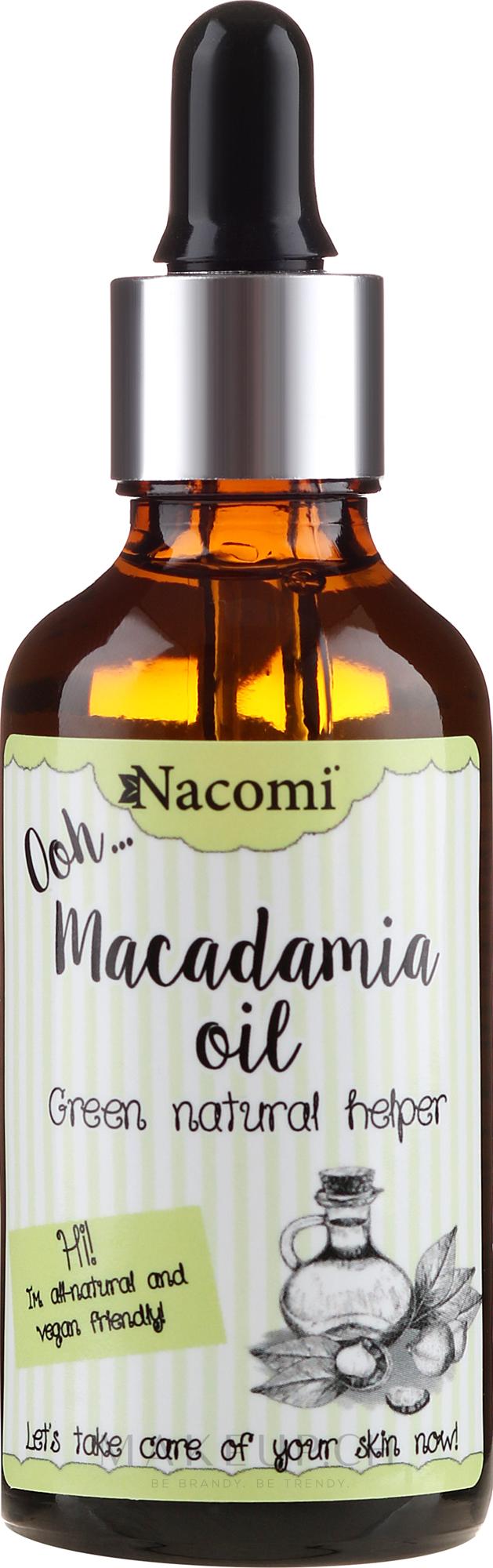 Macadamiaöl für den Körper - Nacomi Macadamia Oil — Bild 50 ml
