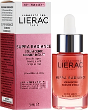 Düfte, Parfümerie und Kosmetik Entgiftendes Gesichtsserum für strahlenden Teint - Lierac Supra Radiance Detox Serum Radiance Booster