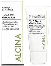 Düfte, Parfümerie und Kosmetik Seboregulierendes Gesichtsfluid für Tag und Nacht - Alcina FM Day and Night Facial Fluid