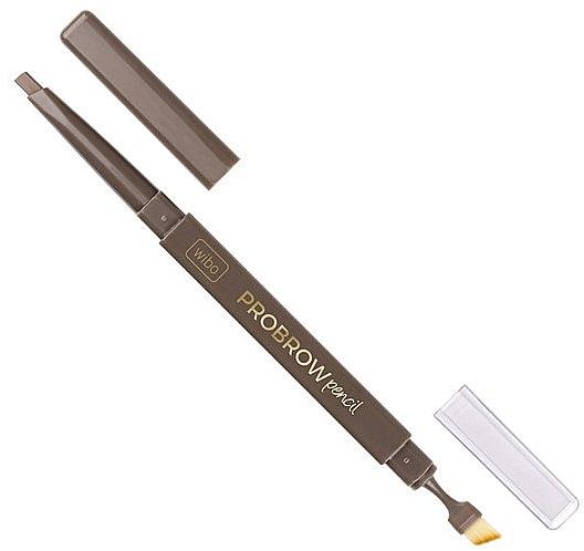 Augenbrauenstift mit Pinsel - Wibo Pro Brow Pencil — Bild N1