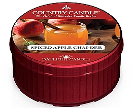 Düfte, Parfümerie und Kosmetik Duftkerze Spiced Apple Chai-der - Country Candle Spiced Apple Chai-der Daylight