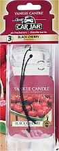 Düfte, Parfümerie und Kosmetik Auto-Lufterfrischer Black Cherry - Yankee Candle Black Cherry Jar Ultimate