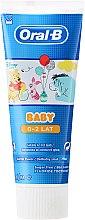 Düfte, Parfümerie und Kosmetik Zahncreme für Kinder - Oral-B Baby Winnie Pooh Toothpaste