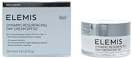 Düfte, Parfümerie und Kosmetik Erneuernde, glättende und feuchtigkeitsspendende Gesichtscreme - Elemis Dynamic Resurfacing Day Cream SPF 30