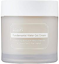 Düfte, Parfümerie und Kosmetik Feuchtigkeitsspendende Gel-Creme mit grünem Tee und Panthenol - Klairs Fundamental Watery Gel Cream