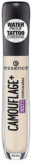 Wasserfester mattierender Concealer - Essence Camouflage+Matt Concealer