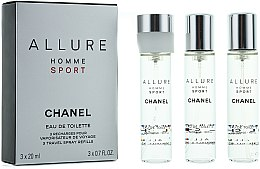 Düfte, Parfümerie und Kosmetik Chanel Allure Homme Sport - Eau de Toilette (3x20ml Refill)
