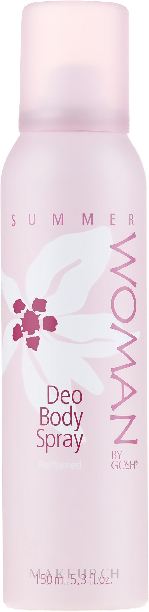 Deospray - Gosh Woman Summer Deo Body Spray — Bild 150 ml