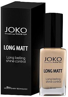 Langanhaltende und mattierende Foundation - Joko Long Matt
