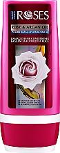 Düfte, Parfümerie und Kosmetik Regenerierende Haarspülung mit Rosenwasser und Arganöl für strapaziertes Haar - Nature of Agiva Roses Rose & Argan Oil Damaged Hair Conditioner