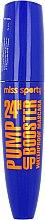 Düfte, Parfümerie und Kosmetik Wasserfeste Wimperntusche - Miss Sporty Pump Up Booster Waterproof Mascara