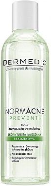 Erfrischendes Gesichtstonikum für normale und Mischhaut - Dermedic NormAcne Preventi Tonic