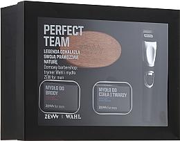 Düfte, Parfümerie und Kosmetik Bartpflegeset - Zew Wahl (Bartseife 2x85ml + Bartbürste + Trimmer)