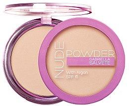 Düfte, Parfümerie und Kosmetik Gesichtspuder - Gabriella Salvete Nude Powder SPF15
