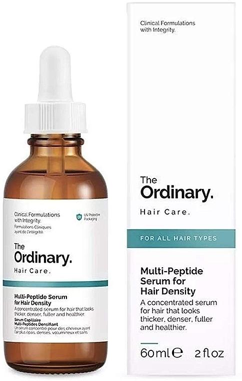 Konzentriertes Serum mit Peptidkomplex für dickeres Haar - The Ordinary Multi Peptide Serum For Hair Density