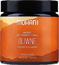 Düfte, Parfümerie und Kosmetik Olivenbutter für Gesicht und Körper - Mohani Olive Rich Batter