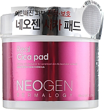 Düfte, Parfümerie und Kosmetik Feuchtigkeitsspendende und beruhigende Peelingpads für das Gesicht - Neogen Dermalogy Real Cica Pad