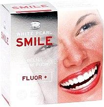Düfte, Parfümerie und Kosmetik Aufhellendes Zahnpulver mit Menthol - White Pearl Smile Tooth Whitening Powder Fluor +