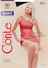 Düfte, Parfümerie und Kosmetik Strumpfhose für Damen Nuance 40 Den Nero - Conte