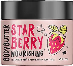 Düfte, Parfümerie und Kosmetik Nährende Körpercreme-Butter mit Erdbeerduft - MonoLove Bio Star Berry Body Butter
