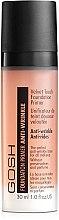 Düfte, Parfümerie und Kosmetik Anti-Falten parfümfreie Foundation - Gosh Velvet Touch Foundation Primer Anti-Wrinkle Apricot