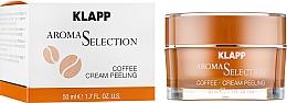 Düfte, Parfümerie und Kosmetik Kaffee-Cremepeeling für das Gesicht - Klapp Aroma Selection Coffee Cream Peeling