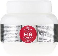 Düfte, Parfümerie und Kosmetik Verstärkende Haarmaske mit Feigenextrakt - Kallos Cosmetics FIG Booster Hair Mask With Fig Extract