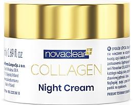 Düfte, Parfümerie und Kosmetik Nachtcreme für das Gesicht mit Kollagen - Novaclear Collagen Night Cream