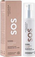Düfte, Parfümerie und Kosmetik Regenerierende und feuchtigkeitsspendende Gesichtscreme für dehydrierte und gestresste Haut - Madara Cosmetics SOS Hydra Recharge Cream