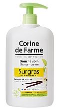 Düfte, Parfümerie und Kosmetik Reichhaltige Duschcreme mit Vanilleextrakt für empfindliche Haut - Corine De Farme Shower Cream