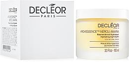 Düfte, Parfümerie und Kosmetik Feuchtigkeitsspendender Nachtbalsam für dehydrierte Gesichtshaut - Decleor Aroma Night Neroli