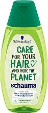 Düfte, Parfümerie und Kosmetik Pflegendes und regenerierendes Haarshampoo - Schwarzkopf Schauma Care For Your Hair & For The Planet Repairing Shampoo