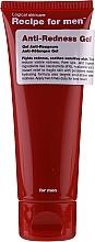 Düfte, Parfümerie und Kosmetik Feuchtigkeitsspendendes und beruhigendes Gesichtsgel gegen Rötungen - Recipe For Men Anti-Redness Gel