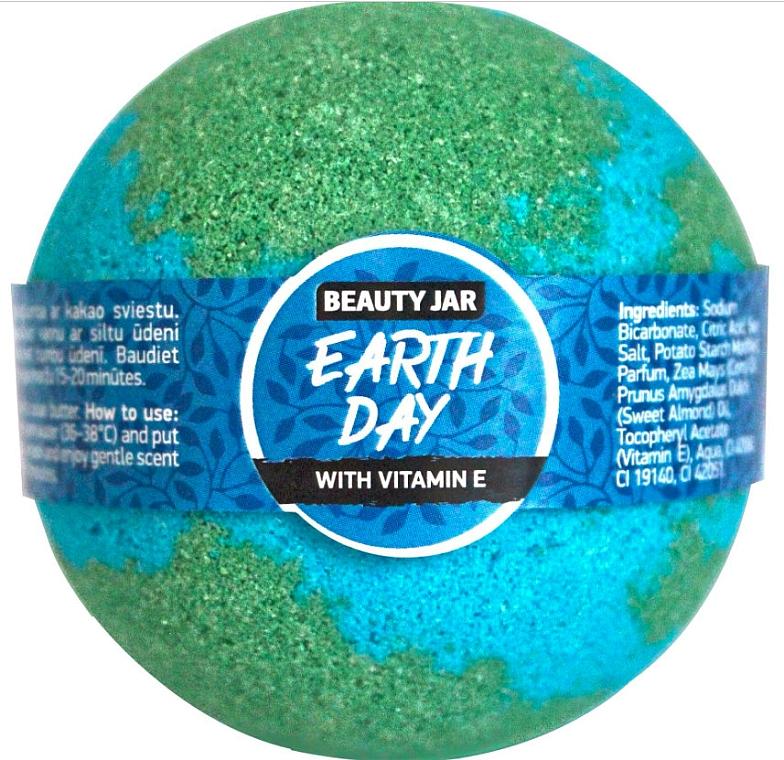 Badebombe mit Vitamin E - Beauty Jar Earth Day