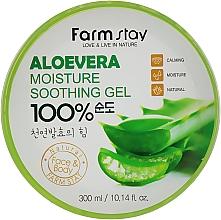 Düfte, Parfümerie und Kosmetik Natürliches, beruhigendes und feuchtigkeitsspendendes Körper- und Gesichtsgel mit Aloe Vera - FarmStay Aloevera Moisture Soothing Gel