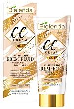 Düfte, Parfümerie und Kosmetik 10in1 Multifunktionale und wasserfeste CC Creme LSF 6 - Bielenda Magic CC 10in1 Body Correction Cream Waterproof Tanning Effect SPF6
