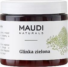 Düfte, Parfümerie und Kosmetik Gesichtsmaske mit grüner Tonerde - Maudi