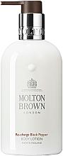 Düfte, Parfümerie und Kosmetik Feuchtigkeitsspendende Körperlotion mit schwarzem Pfeffer - Molton Brown Re-Charge Black Pepper