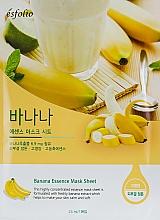 Düfte, Parfümerie und Kosmetik Tuchmaske für das Gesicht mit Bananenextrakt - Esfolio Essence Mask Sheet